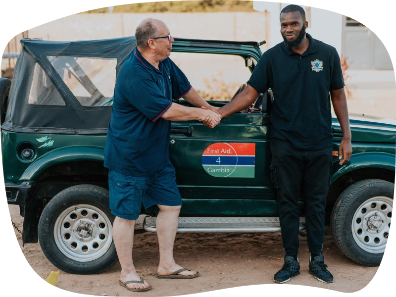 First Aid For Gambia Jeep