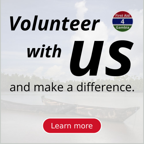Volunteer with FirstAid4Gambia